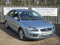 FORD FOCUS 1.6 ZETEC CLIMATE 5DR 2007 (07) 76K FSH 8 X MAIN DEALER STAMPS / MOT!