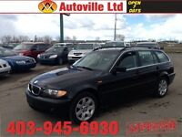 2004 BMW 325XI AUTO WAGAON LEATHER ROOF LOW KM $10988