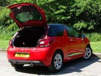 CITROEN DS3 1.6 DSTYLE HDI 3d 90 BHP (red) 2011