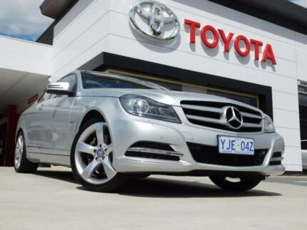 2012 Mercedes-Benz C350 W204 MY11 BE Silver 7 Speed Automatic G-Tronic Coupe Greenway Tuggeranong Preview
