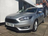 Ford Focus 1.6 TDCi Zetec 5dr (start/stop) ONLY £20.00 PER YEAR ROAD TAX
