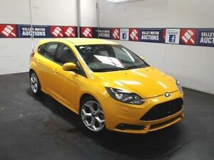 2013 Ford Focus LW MK2 ST Tangerine Scream 6 Speed Manual Hatchback Cardiff Lake Macquarie Area Preview
