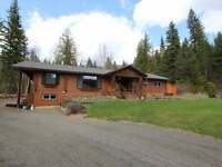 Beautiful Log Home on Acreage