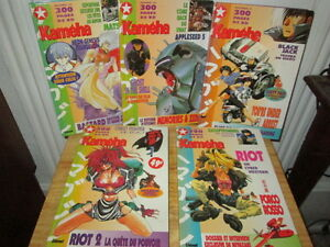 ***5 VOLUMES DE MANGA KAMEHA 1520 PAGES EN TOTALE!!!***