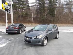 2013 Chevrolet Sonic LT LOADED REDUCED TO SELL!