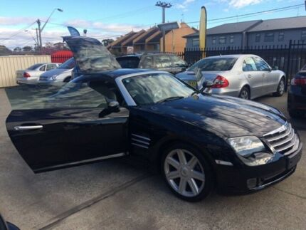 2004 Chrysler Crossfire ZH Coupe 2dr Spts Auto 5sp 3.2i [MY04] Black Sports Automatic Coupe