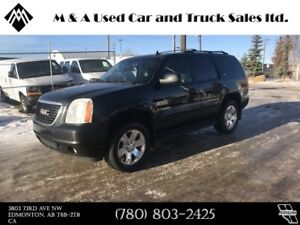 2007 GMC Yukon SLT DVD, LEATHER, 4X4, 7 PASSENGER !!