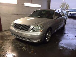 2002 Lexus LS 430 navigation Sedan