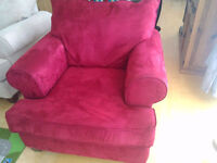 Beautiful Red Armchair