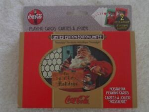 "Coca Cola Limited Edition ""Nostalgia"" Playing Cards"