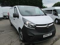 Vauxhall Vivaro 2900 1.6Cdti 115Ps H1 Van DIESEL MANUAL WHITE (2015)
