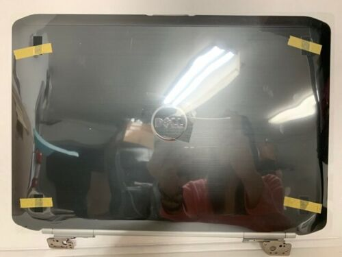 """NEW GENUINE Dell Latitude E5420 14"""" LCD Back Cover Lid With Hinges JWDPT"""
