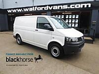2013 Volkswagen Transporter T26 2.0TDi 84ps SWB 16000miles Diesel white Manual