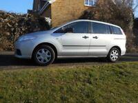 Mazda 5 seven seater, tow bar, sliding rear doors, petrol 1.8L