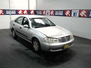 2003 Nissan Pulsar N16 MY03 ST Silver 4 Speed Automatic Sedan Cardiff Lake Macquarie Area Preview