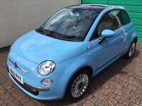 Fiat 500 1.2 Lounge - 2012 - Blue Volare