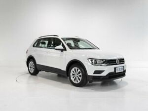 2018 Volkswagen Tiguan 5N MY18 110TSI DSG 2WD Trendline White 6 Speed Sports Automatic Dual Clutch Cooee Burnie Area Preview