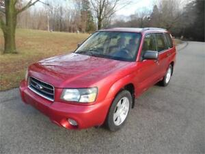 2003 Subaru Forester XS, All Wheel Drive , Fully Loaded $1995