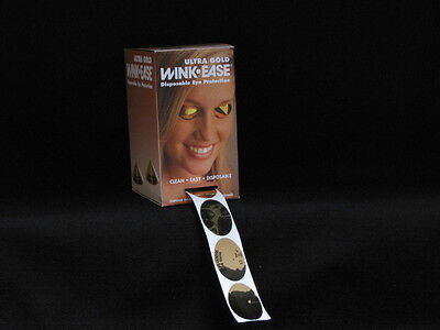WINK EASE ULTRA GOLD- 1 BOX OF 250 PAIR DISPOSABLE EYE PROTECTION