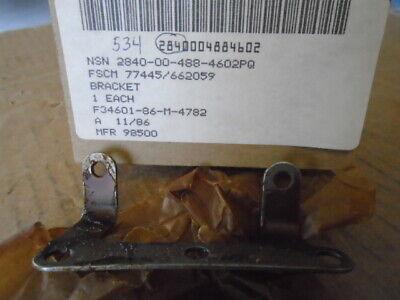 LOT OF 50 EA NOS PRATT & WHITNEY ANGLE BRACKET FOR TF-30 ENGINE   P/N: 662059