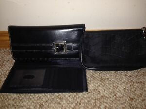 Black Wallet & Make-up Bag