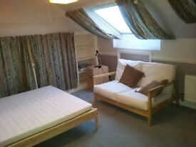 Big loft room near train station and Big Tesco in Aston. £70pw all bills included. Excellent transpo