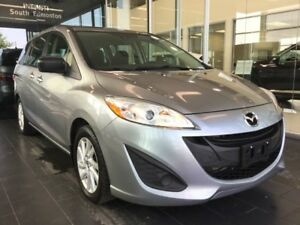 2014 Mazda Mazda5 TOURING, A/C, 6 SEATER, ACCIDENT FREE