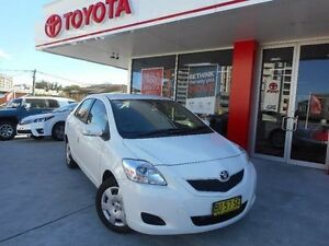2013 Toyota Yaris NCP93R 10 Upgrade YRS Glacier White 4 Speed Automatic Sedan Allawah Kogarah Area Preview