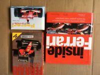 Ferrari books The Grand Prix Cars, Inside Ferrari, Ferrari Formula 1