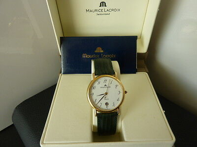 Maurice Lacroix Swiss watch Gold tone