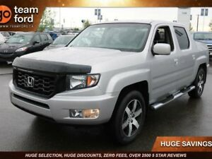 2014 Honda Ridgeline SPORT, LEATER SEATING, WELL MAINTAINED, ACC