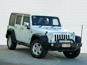2014 Jeep Wrangler Unlimited JK MY15 Sport (4x4) White 6 Speed Manual Softtop Moorooka Brisbane South West Preview