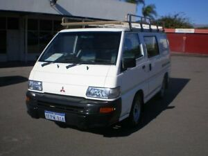 2006 Mitsubishi Express SJ MY06 SWB White 5 Speed Manual Van Victoria Park Victoria Park Area Preview