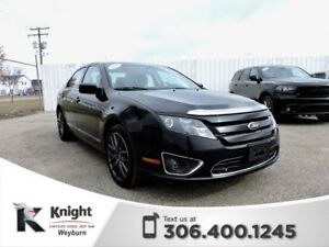 2012 Ford Fusion SEL AWD Heated Leather Rear Park Assist Bluetoo