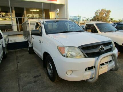 2008 Toyota Hilux SR White 4 Speed Automatic Cab Chassis Moorooka Brisbane South West Preview