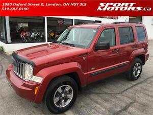 2008 Jeep Liberty Sport 4x4! New Tires & Brakes! Remote Start!