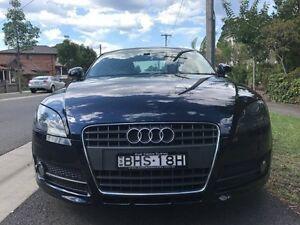 2008 Audi TT 8J MY09 8J Coupe 2dr Man 6sp 2.0T Navy Blue 6 Speed undefined Croydon Burwood Area Preview