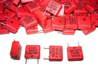 20pack 0.22uf .22uf 100v Wima Mkm4 Capacitors New