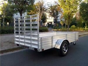 Aluminum Utility Trailers, 5x10 & 6x14
