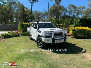 2012 Toyota Hilux KUN26R MY12 SR Double Cab White 4 Speed Automatic Utility Capalaba Brisbane South East Preview