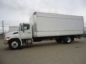 2017 HINO 338  with 24' Van Body-TH21610