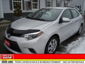 2015 Toyota Corolla LE $18495 financed price - 0 down payment*