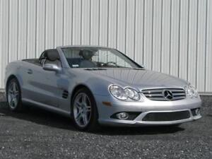 2007 MERCEDES BENZ SL550 AMG PACKAGE ***57 000 KM***MINT.....