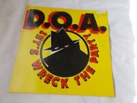 Vinyl LP Let's Wreck The Party D.O.A. Al Tentacles Virus 44 Stereo 1985