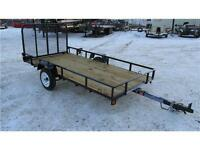 2016 SINGLE AXLE 5FT X 10FT UTILITY TRAILER (2,000 LB GVW)