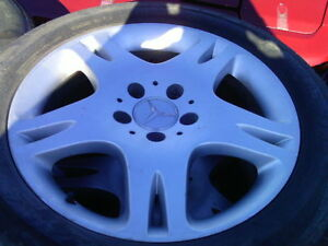 17' INCH MERCEDES BENZ WHEELS RIMS $150 E CLASS S CLASS