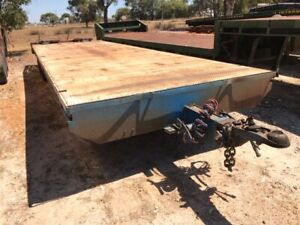 Plant Trailer 28ft Bogie Bostral SN630 Malaga Swan Area Preview