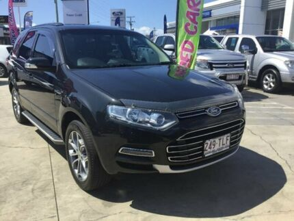 2013 Ford Territory SZ Titanium Seq Sport Shift Grey 6 Speed Sports Automatic Wagon Maryborough Fraser Coast Preview