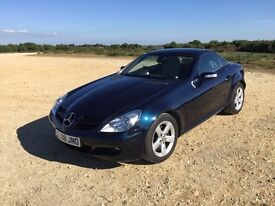 PRISTINE 2008 SLK280 AUTO CONVERTIBLE. LOW MILEAGE, FSH AND 12-MONTHS MOT. PETROL