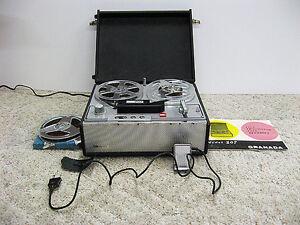 Granada Model 2075 Transistor Tape Recorder In Yorkton Regina Regina Area image 3